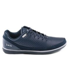 Gas Sneakers Blue Casual Shoes b29227550