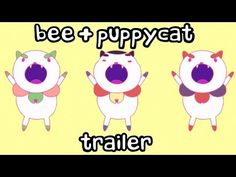 NEW Bee and PuppyCat Trailer Coming July 11th only on Cartoon Hangover
