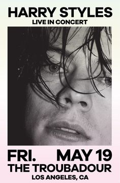 Harry styles 734016439238102469 - Harry Styles Live at The Garage, London May 2017 Source by Harry Styles Poster, Harry Styles Mode, Harry Styles Concert, Room Posters, Poster Wall, Poster Prints, Gig Poster, Photo Wall Collage, Picture Wall