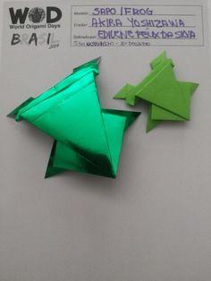 World Origami Days  8° desafio: dobrar qualquer origami do Mestre Akira Yoshizawa.