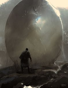 Demon Egg by artist Eren Arik. Fantasy Images, Fantasy Rpg, Medieval Fantasy, Fantasy Artwork, Dark Fantasy, Fantasy Creatures, Mythical Creatures, Poker, Environment Concept Art