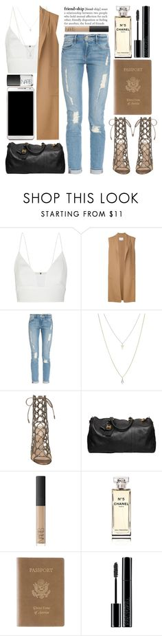 """""""September 17th, 2015"""" by andystyles ❤ liked on Polyvore featuring Narciso Rodriguez, Alexander Wang, Frame Denim, ASOS, Gianvito Rossi, Chanel, NARS Cosmetics, Royce Leather, Samsung and Giorgio Armani"""