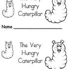 The Very Hungry Caterpillar Emergent Reader Book  Use this 12 page Printable Emergent Leveled Reader with your students or children at home for you...