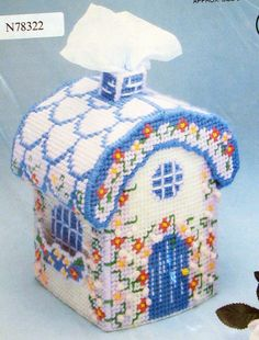 Image Detail for - Tissue Cover Plastic Canvas kit by SouthcastleVintage on Etsy