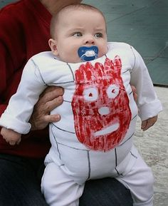 baby halloween costume wilson from castaway how funny would it be if his dad