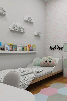 Bedroom Decor For Teen Girls, Girl Bedroom Designs, Baby Bedroom, Baby Room Decor, Bedroom Built In Wardrobe, Kids Room Furniture, Kids Room Design, Girl Room, Decoration