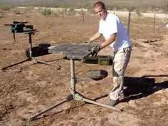 D.O.A. Tactical Shooting Bench Setup video Shooting Bench, Doa, Picnic Table, Wood Projects, Hunting, Bullets, Benches, Youtube, Banks
