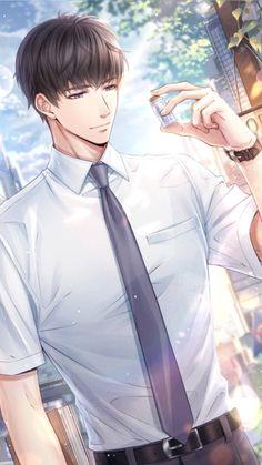 Dark Anime Guys, Cool Anime Guys, Handsome Anime Guys, Hot Anime Boy, Anime Love, Anime Couples Drawings, Anime Couples Manga, Anime Manga, Anime Picture Boy