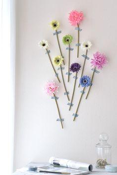 ナチュラル生活ブログ3週目:造花で華やかウォールデコに挑戦|写真で思い出溢れる暮らし- 福岡のフォトスタイリング&写真教室 Petit Works-プチワークス-