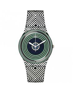 SWATCH GREEN SPELL - Un reloj que lleva los micro estampados al extremo, perfecto para el día a día