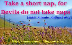 Life moves on-The Three words which sum up everything: The Power Mid Day Nap(Qailulah) Boosts Your produc...