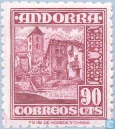 Andorra - Spanish - Local motives 1948