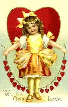 postcard.quenalbertini: Vintage Valentine's Card
