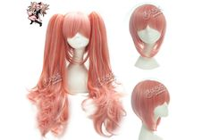 Enoshima Junko Anime Hairpiece Long Straight Cosplay Wig Free Shipping Synthetic Fiber Hair Full Wig Pink Greay Quality.Big Saving Now :) http://www.aliexpress.com/store/1111186