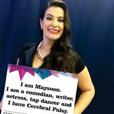 Maysoon Zayid rockin' it ..