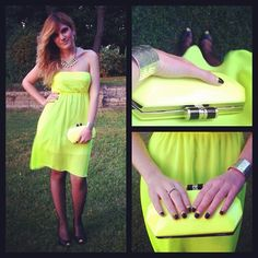 So Fluorescent! (by Letizia Giansanti) http://lookbook.nu/look/3614907-So-Fluorescent