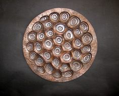 Inside Metal Art: Repousse and Chasing Tutorial - Copper wall sculpture