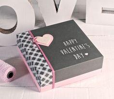 cajas de san valentin - Buscar con Google