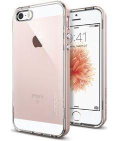 Spigen Neo Hybrid Crystal Hoesje iPhone SE Rose Gold