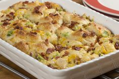 Busy days call for easy dinners that can be ready in 30 minutes, like this chicken casserole.