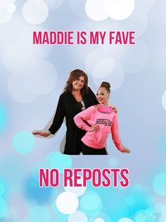 Ignore the thing that says no reposting if u love Maddie plz repost this