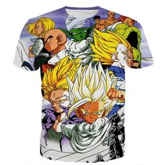 4787290bf Dragon Ball Trunks Gohan Young Generation Super Saiyan Color Style T-Shirt.  Dbz GohanSon GokuDbz ClothingCool ...
