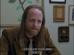 """Rosso, the well-intentioned but often clueless guidance counselor in """"Freaks and Geeks"""" Freaks And Geeks, Emotional Connection, Blow Your Mind, Clueless, Hilarious, Funny, Geek Stuff, Mindfulness, Student"""