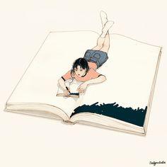 韓國살구 salgoolulu動態圖 Animated Gif Illustrator by 살구 salgoolulu Anime Gifs, Anime Art, Gif Animé, Animated Gif, Beautiful Gif, Gif Pictures, Aesthetic Gif, Anime Scenery, Cute Gif