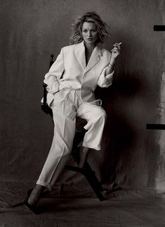 Head Over Heels — 'Natural Beauty' Kate Moss by Peter Lindbergh for...