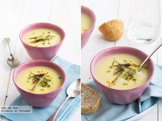 Receta de crema de coliflor al azafrán  http://www.directoalpaladar.com/recetas-de-sopas-y-cremas/receta-de-crema-de-coliflor-al-azafran