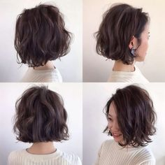 80 Bob Hairstyles To Give You All The Short Hair Inspiration - Hairstyles Trends Bobs For Thin Hair, Wavy Bobs, Messy Short Hair, Short Hair Cuts, Korean Short Hair, Hair And Beauty, Cool Short Hairstyles, Kids Short Haircuts, Blonde Hairstyles