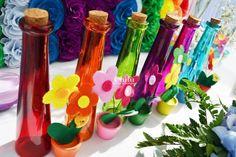 Rainbow decorations
