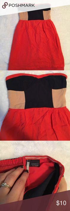 Sparkle and fade size small strapless dress Sparkle and fade size small strapless dress Sparkle & Fade Dresses Mini
