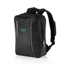 The City Backpack. Padded microfiber and grey suedine detail, 2 compartments with padded folder suitable for laptop, earphone exit, adjustable shoulder straps with phone pouch, registered design®. Business Gifts, Travel Bags, Personalized Gifts, Pouch, Laptop, Backpacks, City, Shoulder Straps, Detail