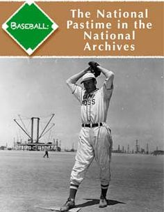 """""""Baseball: The National Pastime in the National Archives"""" is a free eBook for iPad, iPhone, Android, eReader, or ePub-reader extension in your web browser. It tells the story of our national pastime through primary sources: documents, photographs, audio, video, and other records preserved at the National Archives. It covers: baseball during world wars, contracts, civil rights, equal opportunity, steroids, Presidents, improvements to the sport, Little League, Spring Training, and Opening Day!"""