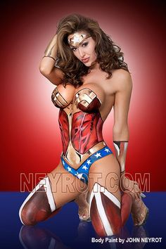 Wonder woman sexy body mortal kombat universe-5283