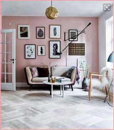 Blush, gold, copper and charcoal greys are right on trend right now in Spring 2016 when it comes to interior design. Surrender to your inner goddess