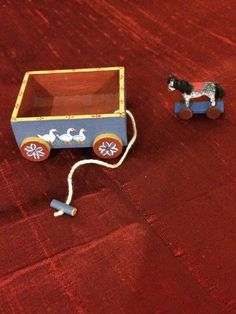Patricia Paul, IGMA fellow - wagon and toy horse