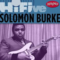 "Solomon Burke was an American recording artist and vocalist, who shaped the sound of rhythm and blues as one of the founding fathers of soul music in the 1960s and a key transitional figure in the development of soul music from rhythm and blues. Burke was referred to as ""King Solomon"", the ""King of Rock 'n' Soul"" and the ""Muhammad Ali of soul""."