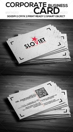 Clean Corporate Business Card PSD Print Templates| Print Ready | Buy and Download: http://graphicriver.net/item/clean-corporate-business-card-v1/7403076?WT.ac=category_thumbWT.z_author=The_Mixerref=ksioks