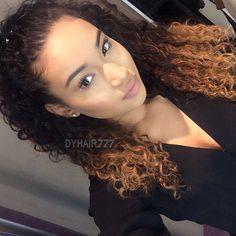 #dyhair777 #curly #wave #hair  hair info : Royal Peruvian deep curly 18 18 20 20 with 16 inch closure  http://www.dyhair777.com/Peruvian-Virgin-Hair.html