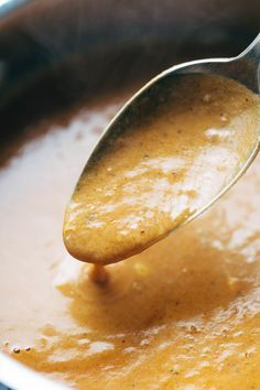 30 Minute Masala Sauce! made with onions, garlic, turmeric, cumin, chili powder, lemon juice, cilantro, tomatoes, and coconut milk. Perfect sauce for veggie or chicken tikka masala! Vegetarian / Vegan | pinchofyum.com