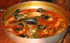 U vredétte (il brodetto) di pesce: in modo semplice e profumatissimo ...