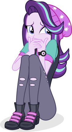 Starlight's EQG form was adorable. Last submission for May 2017... most submissions for me in a month since November 2014. (Spitfire tells me that it's a new Academy Record.)