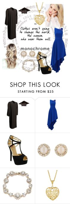 """""""congratulations Class of 2016!"""" by carmen-41-navarro ❤ liked on Polyvore featuring Silvana, Halston Heritage, Red Circle, Kate Spade and Marchesa"""