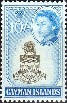 Cayman Islands 1962 SG 178 Coat of Arms Fine Mint SG 178 Scott 164 Other British Commonwealth Stamps Here