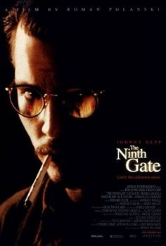 Theatrical release poster showing the film's title against a dark fiery image of Johnny Depp's character with a cigarette in his mouth