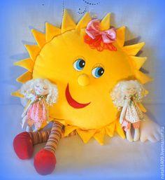 пижамница Солнышко для маминого Солнышка - жёлтый,однотонный,Пижамница