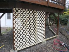1000 Ideas About Lattice Deck On Pinterest Deck
