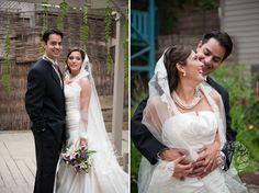 Beautiful outdoor wedding pictures at Berkeley Church